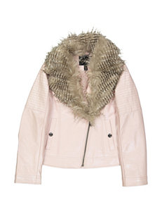 Jessica Simpson Pink Bomber & Moto Jackets