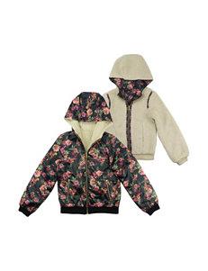 Jessica Simpson Black Bomber & Moto Jackets