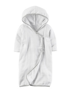 Carter's Grey Hooded Towels