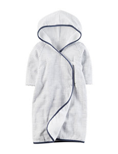 Carter's Blue Hooded Towels