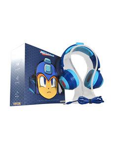 Capcom Blue Headphones Home & Portable Audio