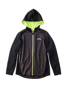 Spalding Black / Lime Lightweight Jackets & Blazers
