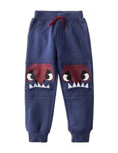 Rustic Blue Indigo Soft Pants