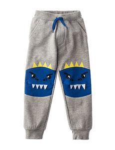 Rustic Blue Heather Grey Soft Pants