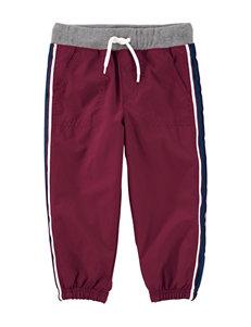 Oshkosh B'Gosh Burgundy Soft Pants