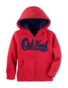 Oshkosh B'Gosh Red Fleece & Soft Shell Jackets