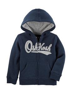 Oshkosh B'Gosh Navy Fleece & Soft Shell Jackets