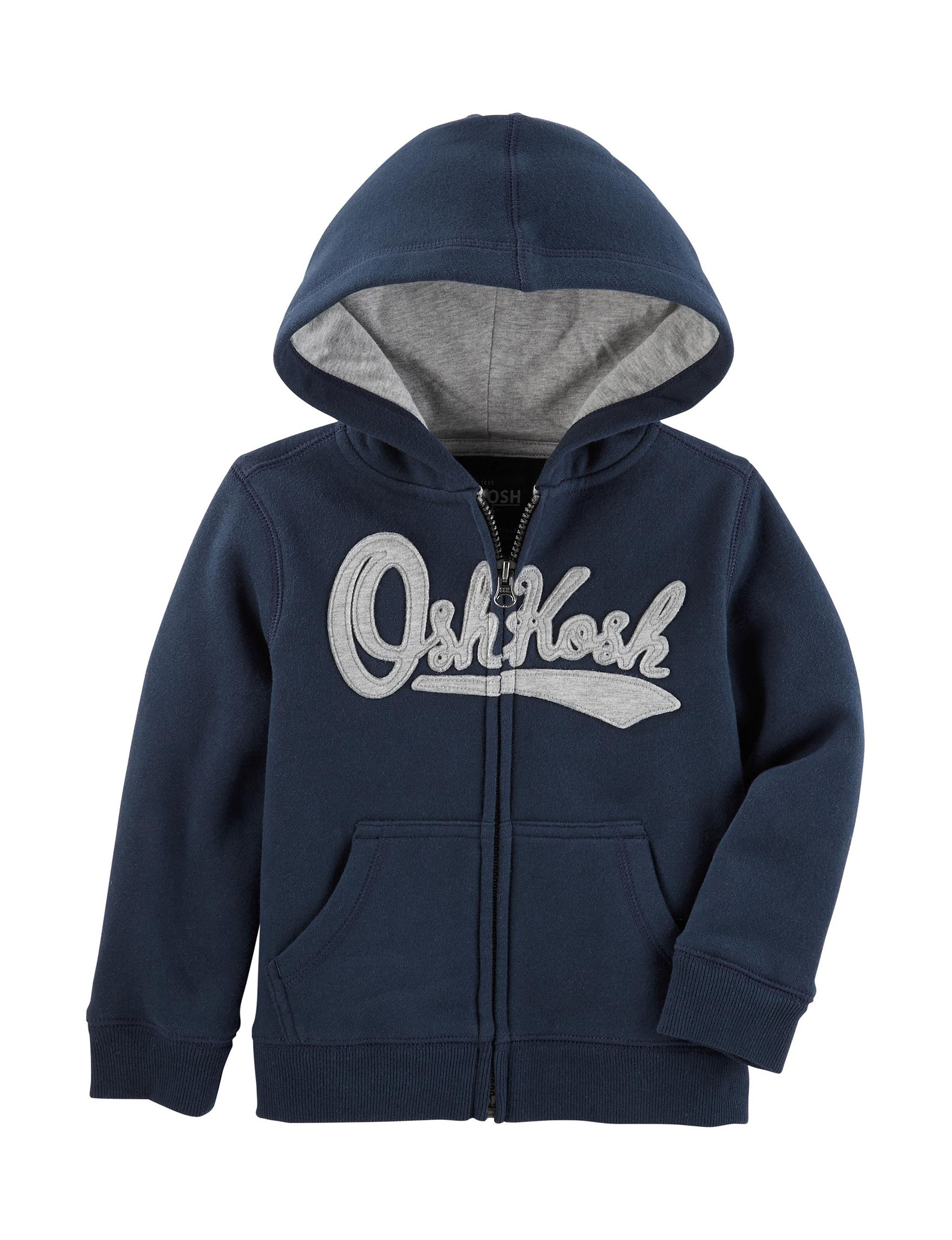 Oshkosh B'Gosh Navy Fleece & Soft Shell Jackets
