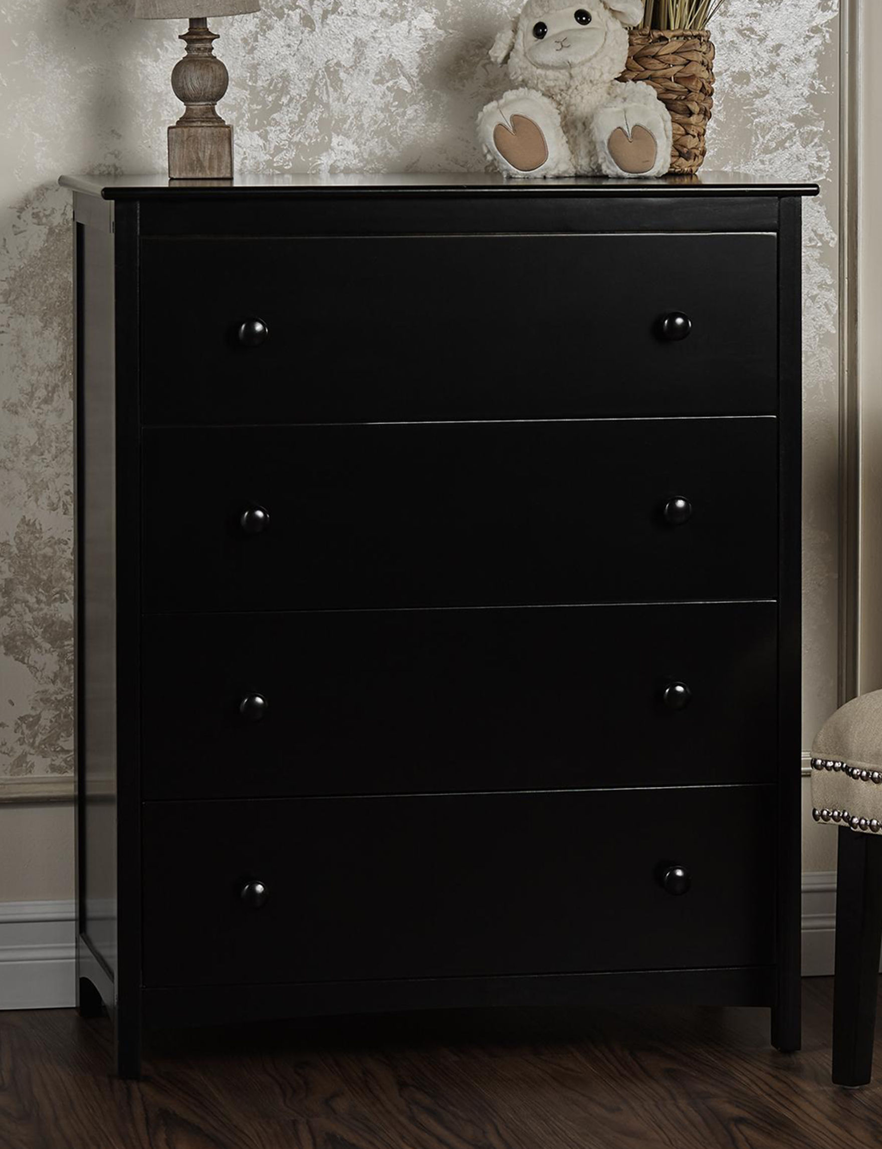 Dream On Me Black Dressers & Chests Bedroom Furniture