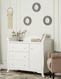 Dream On Me White Dressers & Chests Bedroom Furniture