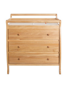 Dream On Me Natural Dressers & Chests Bedroom Furniture