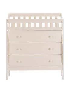 Dream On Me Cream Dressers & Chests Bedroom Furniture