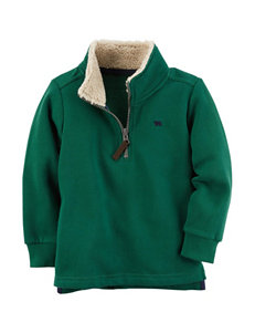 Carter's Green Fleece & Soft Shell Jackets