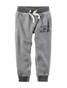 Carter's Heather Grey Soft Pants