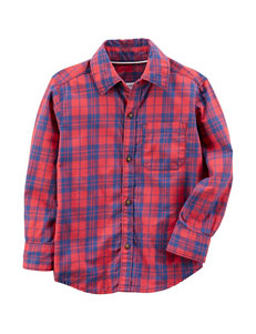 Carter's Blue Casual Button Down Shirts