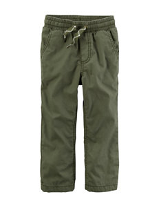 Carter's Green Soft Pants