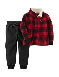 Carter's Plaid Soft Pants
