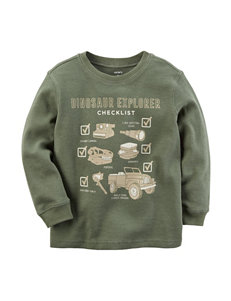 Carter's Dino Explorer Thermal T-shirt - Toddlers & Boys 5-8