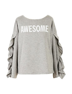 Speechless Heather Grey Tunics