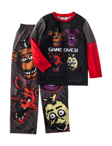 Licensed Charcoal Pajama Sets