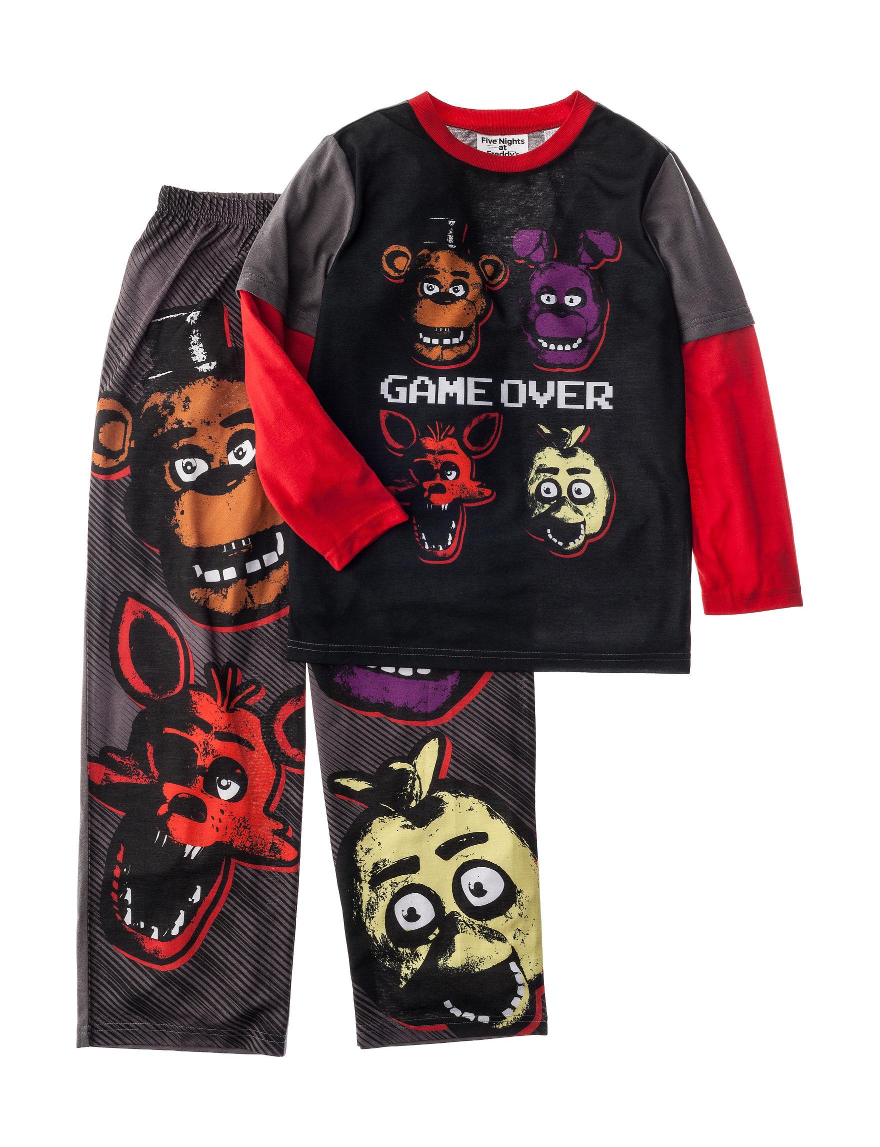 Licensed Charcoal Pajama Sets