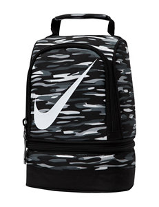 Nike Black Lunch Boxes & Bags Kitchen Storage & Organization