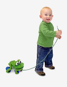 Melissa & Doug Frolicking Frog Pull Toy