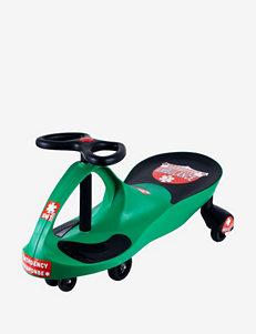 Lil Rider Ambulance Wiggle Ride-on Car