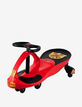 Lil Rider Rescue Firefighter Wiggle Ride-on Car