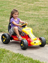 Lil Rider Racer Battery Operated Go-Kart