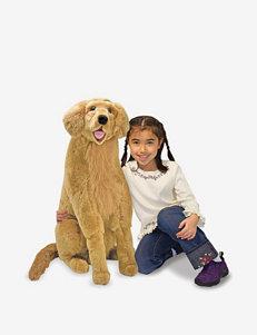 Melissa & Doug Golden Retriever Plush