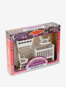 Melissa & Doug Dollhouse Nursery Furniture