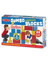 Melissa & Doug 24-pc. Jumbo Cardboard Blocks