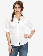 Nautica White Pocket Top – Misses