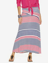 New Direction Mixed Stripe Print Maxi Skirt – Misses