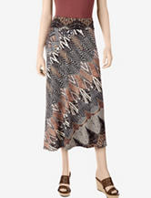 Allison Taylor Abstract Print Maxi Skirt – Misses
