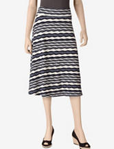 Larry Levine Wavy Knit Skirt – Misses