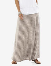 Hannah Striped Print Maxi Skirt – Misses