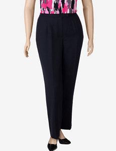 Kasper Plus-size Separates Black Mélange Pants