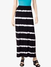 AGB Black & White Tie-Dye Maxi Skirt – Misses