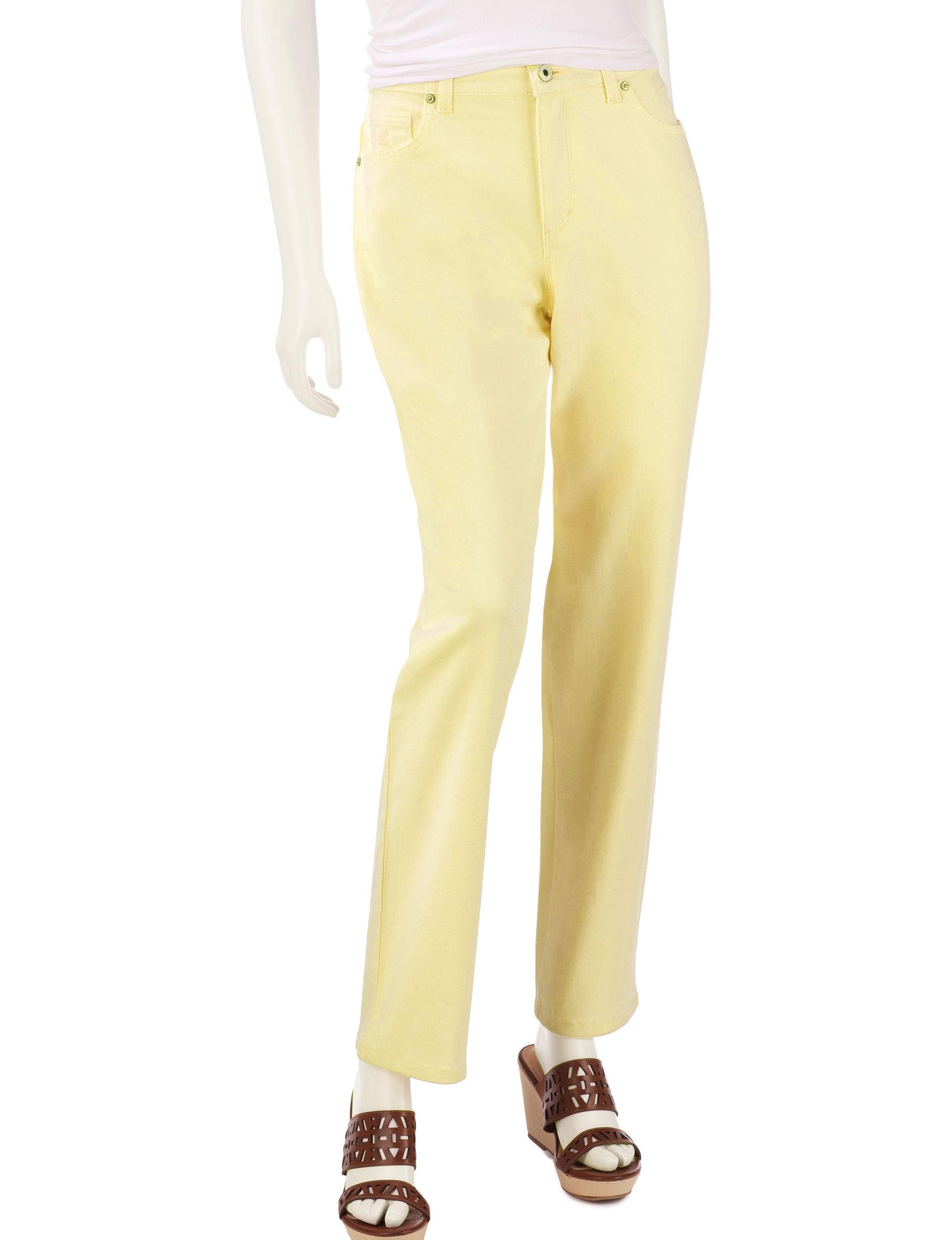Gloria Vanderbilt Yellow