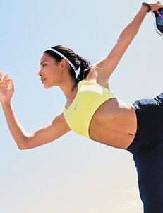 Nike Lime Green Tees & Tanks Sports Bra