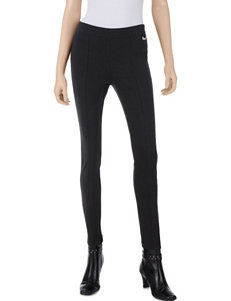Calvin Klein Charcoal Front Seam Ponte Pants