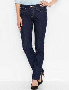 Levi's 518 Meadow Dark Wash Straight Leg Performance Jeans