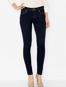Levi's 529 Blue Mine Curvy Skinny Leg Jeans
