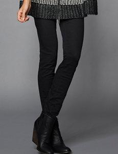 DKNY Jeans Black Capris & Crops