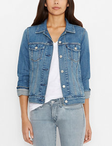 Levi's Blue Denim Jackets