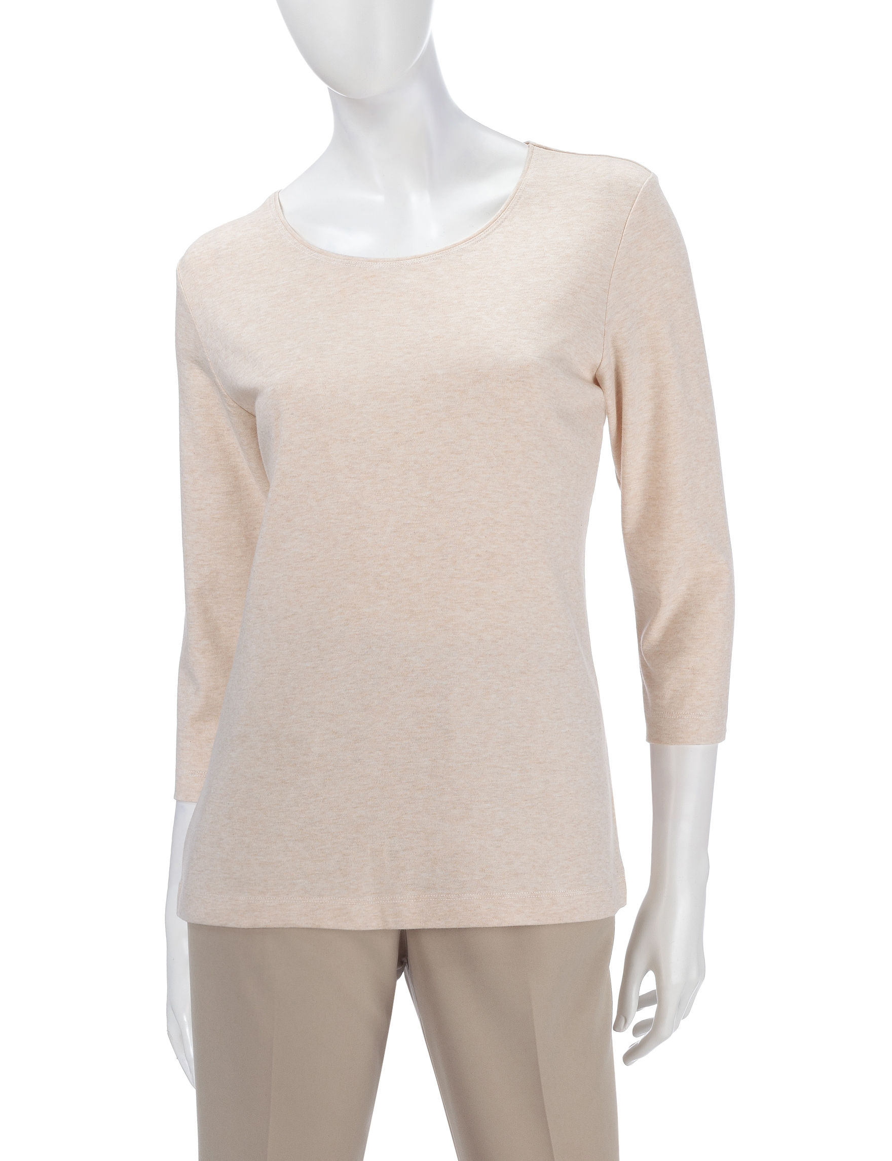 Rebecca Malone Oatmeal Pull-overs Shirts & Blouses