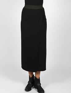ABS by Allen Schwartz Long Front Wrap Skirt