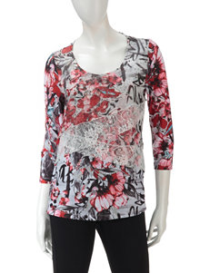Energe White Pull-overs Shirts & Blouses